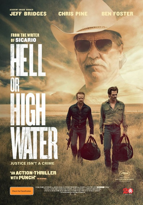Image result for hell or high water poster