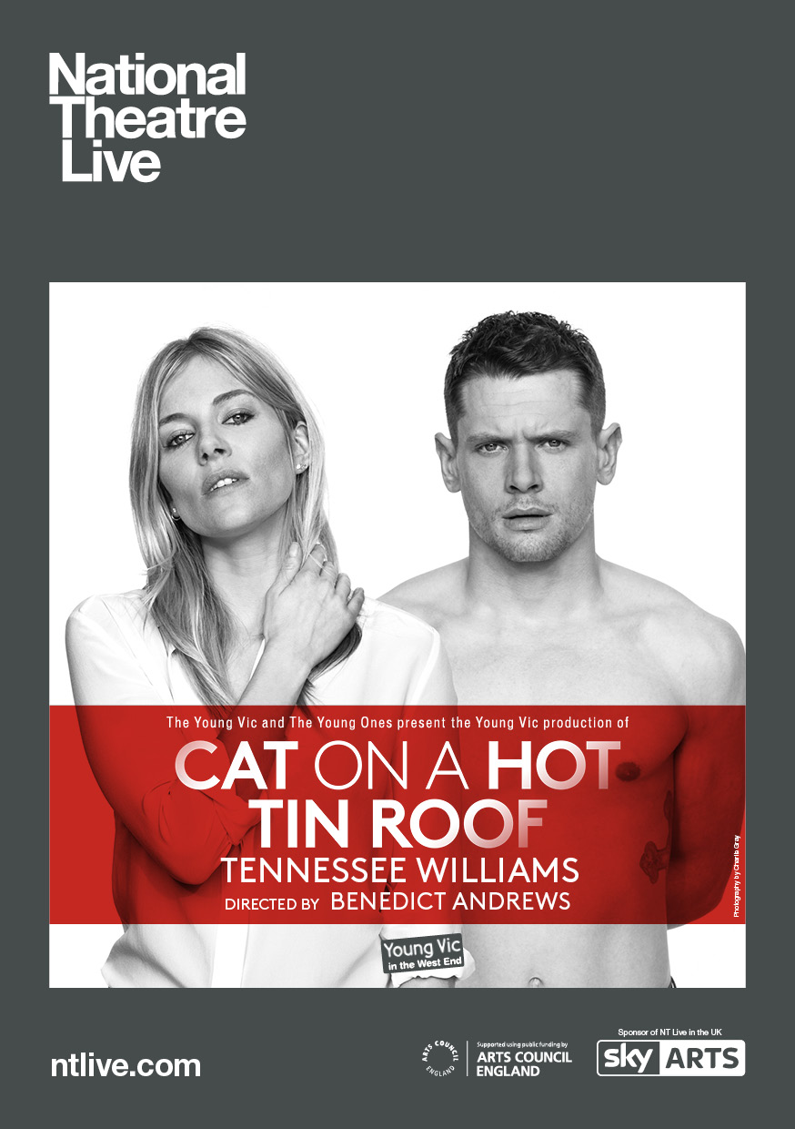 NTL: Cat on a Hot Tin Roof movie poster