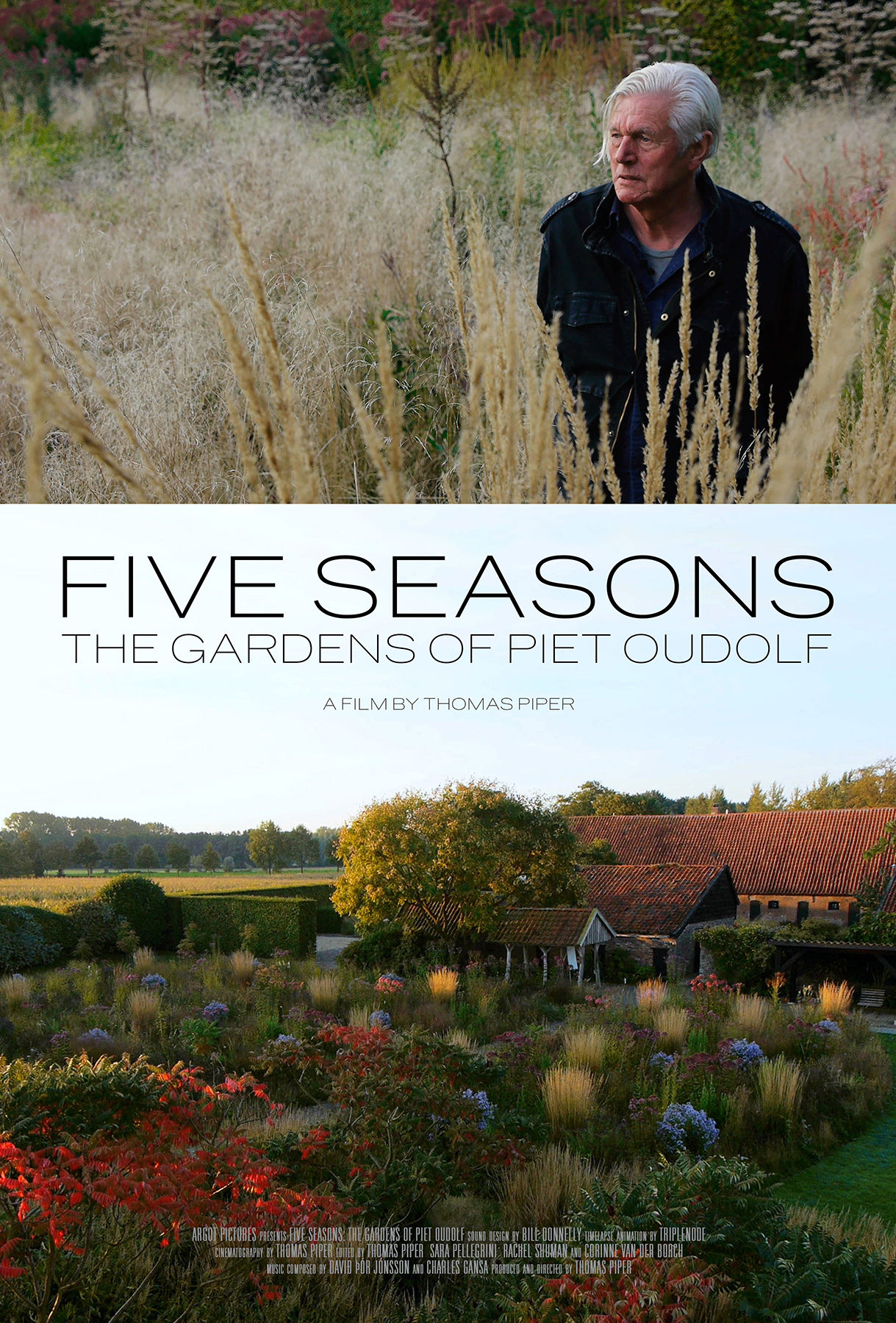 Five Seasons: The Gardens of Piet Oudolf movie poster