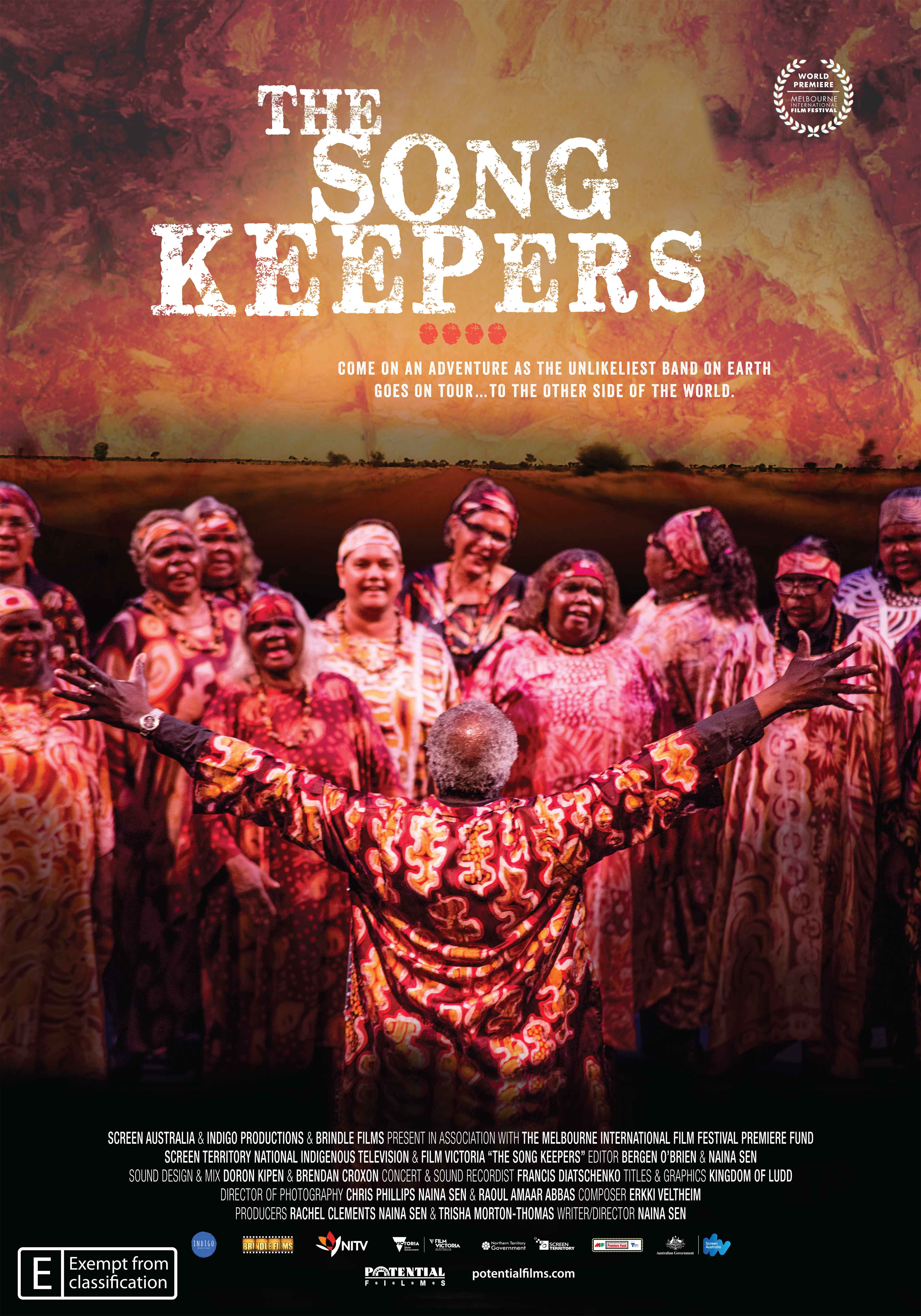 The Song Keepers movie poster