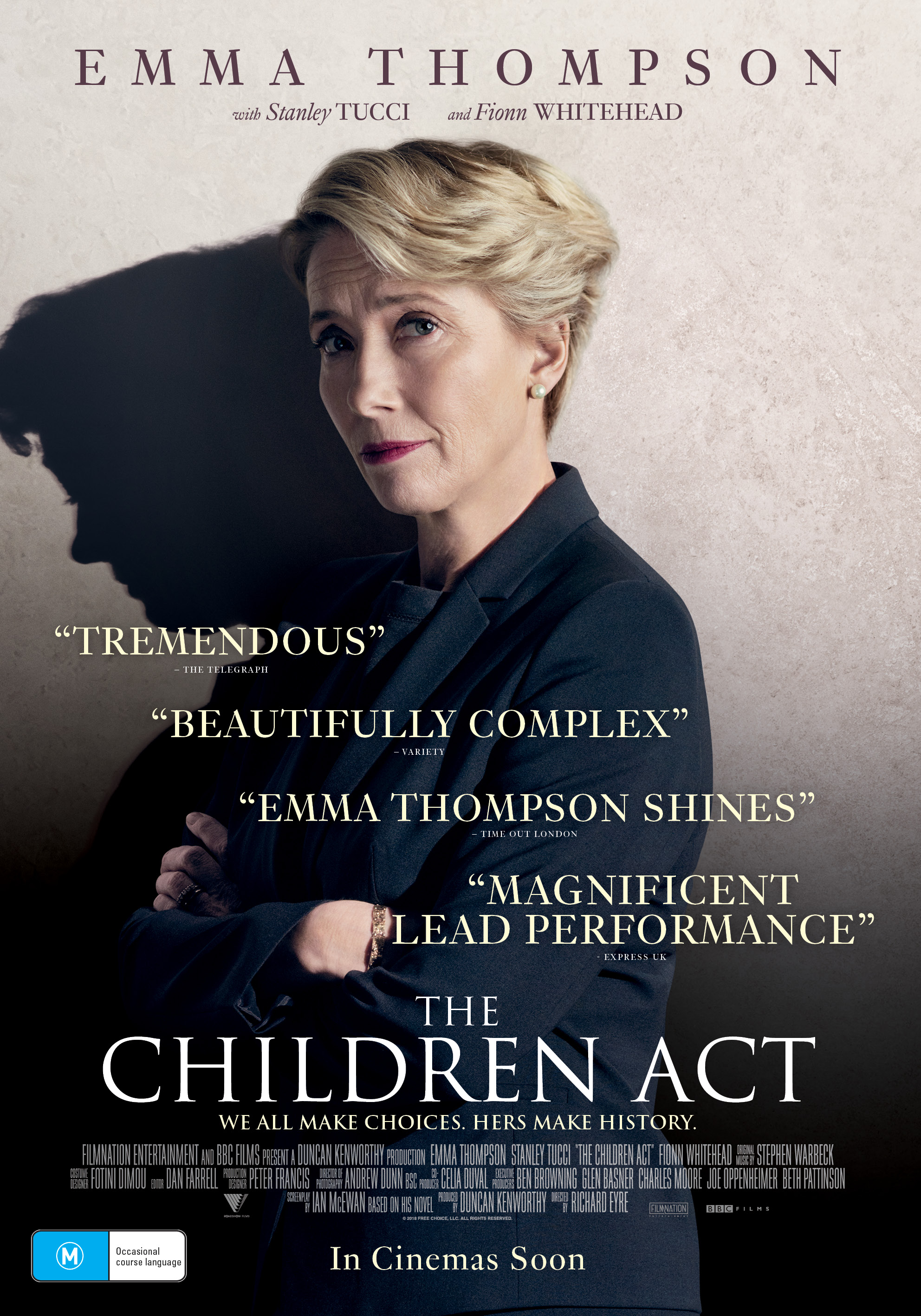 The Children Act movie poster