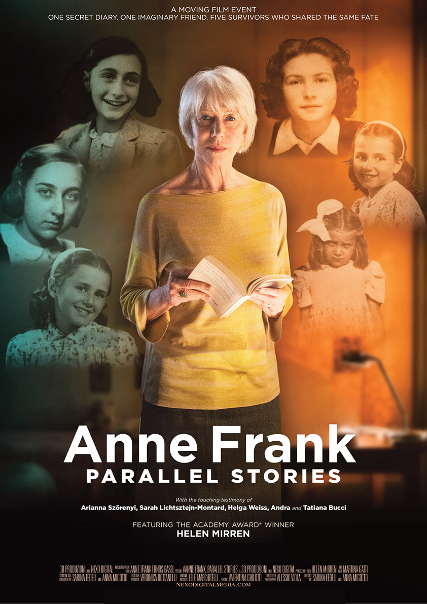 Anne Frank: Parallel Stories movie poster