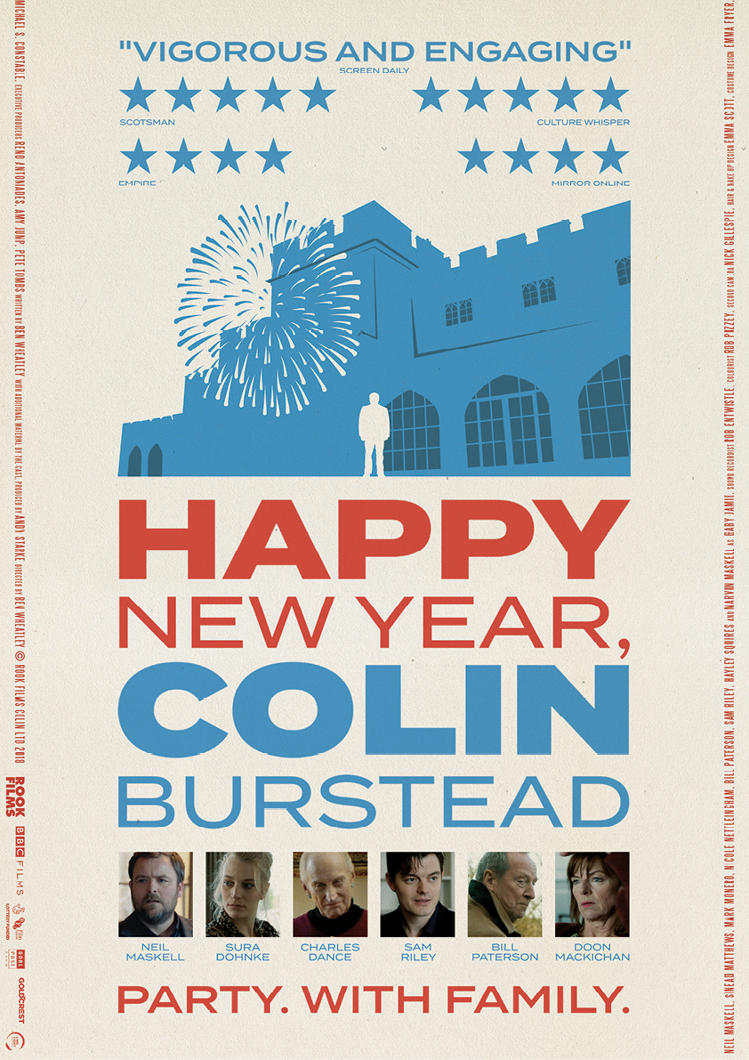 Happy New Year, Colin Burstead movie poster