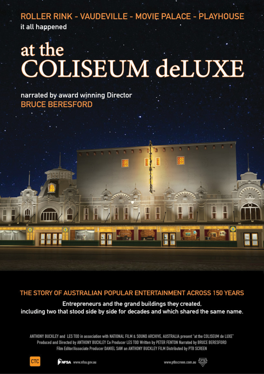 at the Coliseum deLuxe - Introduced by Bruce Beresford movie poster