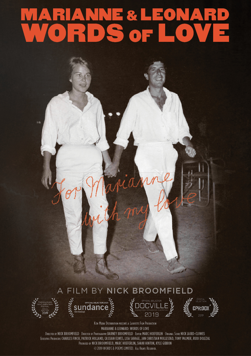 Marianne And Leonard: Words of Love movie poster