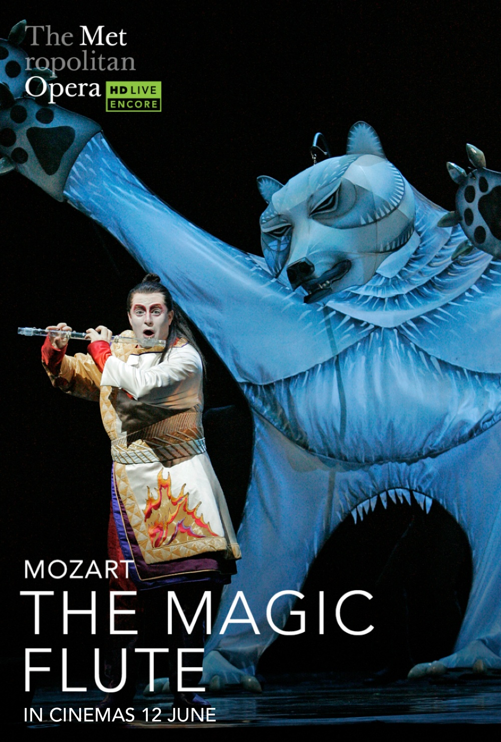 MET Opera: The Magic Flute movie poster