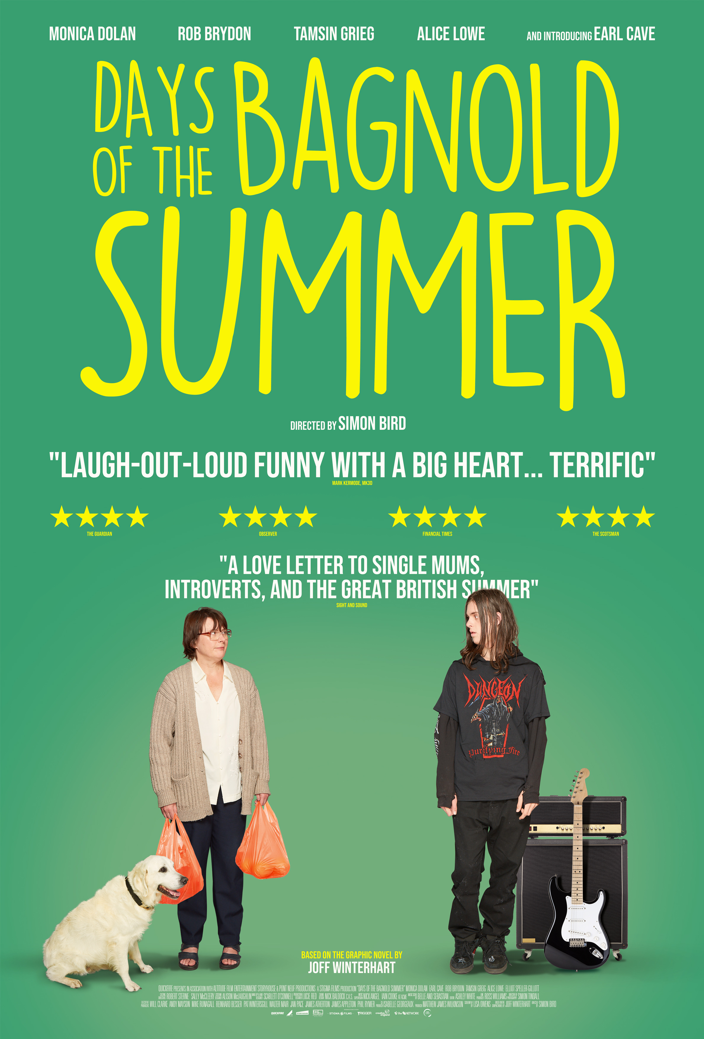 Days of the Bagnold Summer movie poster